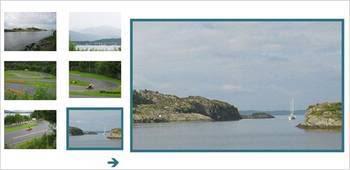 image slideshow - Galeria e Slideshows de imagens em AJAX Javascript