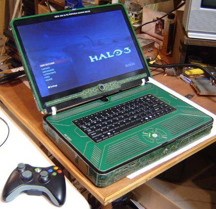 elite 360 hero - Laptop com Xbox 360 Elite embutido