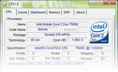 imagem cpu z 144 - CPU-Z 1.44