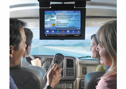 imagem net no carro - T-Systems anuncia banda larga nos automóveis