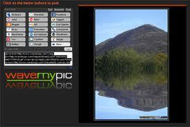 efecto reflejo agua2 - Wave my Pic, efeito de reflexo em água