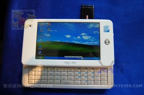 aigo mid p8860 1 608001 - Aigo P8860 com Windows XP Home instalado