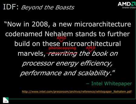 amdidf11 - AMD contra-ataca novidades da Intel