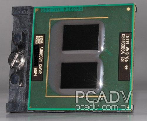"""mobile - Primeira foto do Core 2 Quad """"mobile"""""""