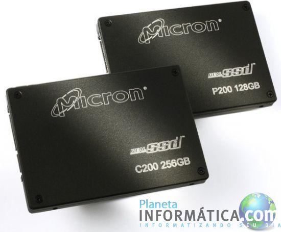 realssd c200 ssds.thumbnail - Micron anuncia umas SSD que atingem velocidades hipersônicas