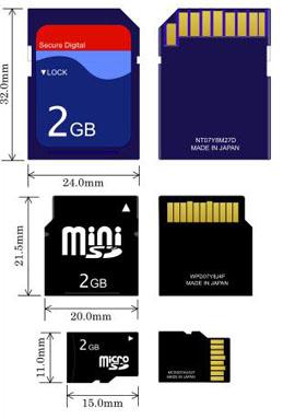 6202 - Dispositivos móveis passarão a ter cartões SD integrados