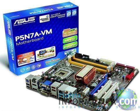 asus p5n7a vm - P5N7A-VM : A GeForce 9300 da Asus