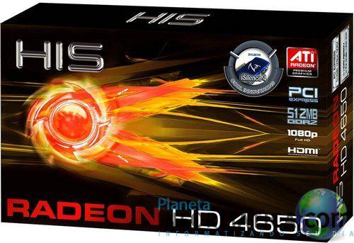 hd4650 caixa - HIS lança a sua Radeon HD4650 iSilence 4 na França