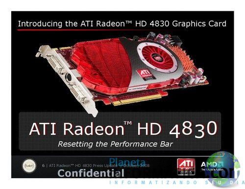 hd4830 - Radeon HD 4830 : os modelos com 560 SP já estão nas lojas