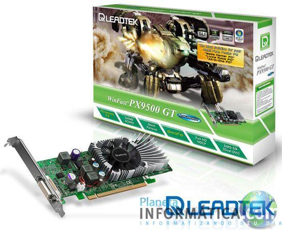 leadtek 9500gt.thumbnail - Leadtek apresenta sua GeForce 9500GT