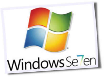 logo windows seven - Microsoft planeja implantar boot rápido no Windows 7