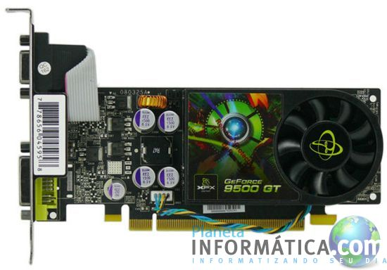xfx 9500gt.thumbnail - XFX GeForce 9500 GT Low Profile