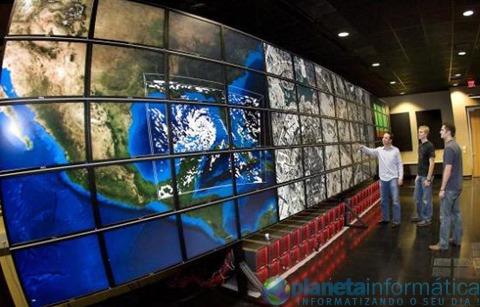 11 23 08 texas stallion - Apresentada maior tela multimonitor do mundo no Texas