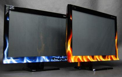6584 - Monitor 3D tenta recriar experiência de cinemas iMax para games