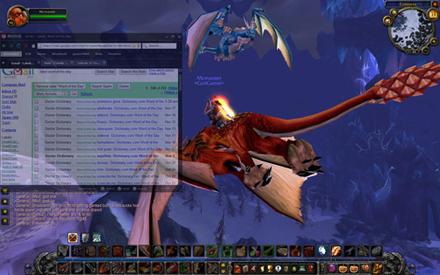 6650 - Um browser para gamers navegarem enquanto jogam
