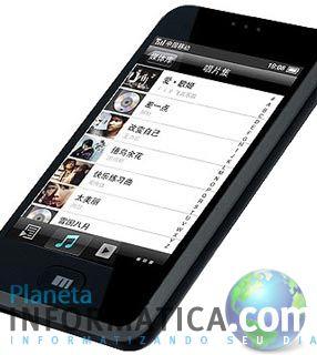 clonephone - Clone chinês do iPhone chega aos EUA para o Natal