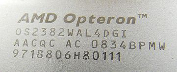 "opteron 02 - Processador Opteron ""Shanghai"" em foto"