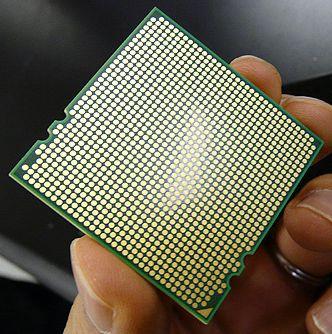 "opteron 03 - Processador Opteron ""Shanghai"" em foto"