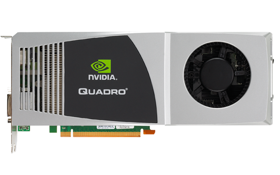 quadro fx5800 front med - NVIDIA Quadro FX5800 4GB, a placa mais poderosa do mercado