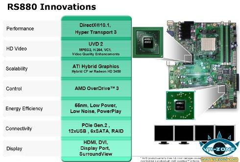 1 - Detalhes do futuro chipset AMD 880G
