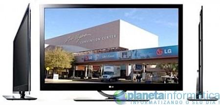 lg lh95 - [CES 2009] LG apresenta a sua TV mais fina, a LH95