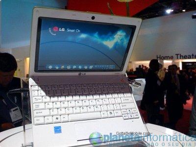 lg smart - [CES 09]LG X120: Notebook com LG Smart On