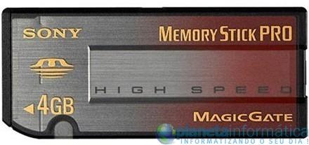 memory stick pro - [CES 09] Sony e SanDisk anunciam cartão de memória de 2 Tb