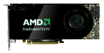 firestream 9270 - AMD FireStream 9270, com RV770 e 2 GB GDDR5.