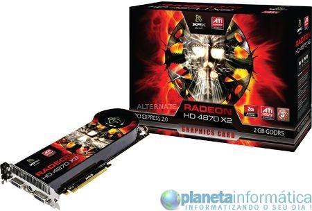 xfx 01 - Radeon HD 4870 X2 da XFX à venda na Alemanha