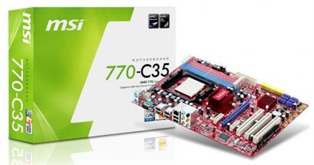 14a - MSI apresenta sua placa 770-C35 para processadores AM3.