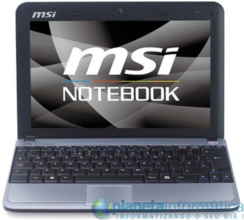 68823 msi - MSI U110 ECO : netbook Atom Z530, Poulsbo e Radeon HD 3200