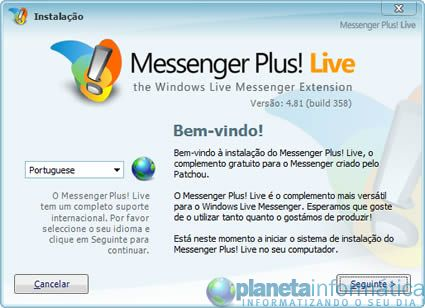 imagem messengerplus481 01 small - Messenger Plus! Live 4.81.358
