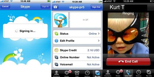 skype iphone cnet - App do Skype para iPhone sai oficialmente