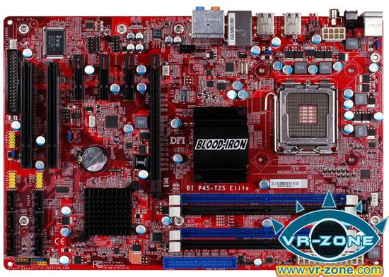 13 dfi bi p45 t2rs elite board 01 - Nova Placa P45 da DFI