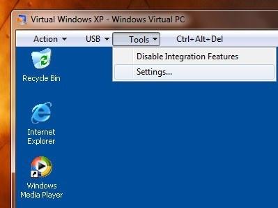 5425 2 - Windows Seven terá um Windows XP virtual já na versão RC