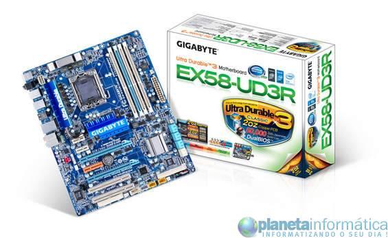 gigabyte x58 - Gigabyte amplia suporte SLI