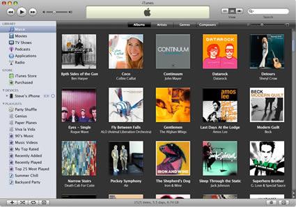 imagem itunes8 03 small - iTunes 8.1.0.52