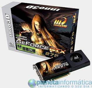 inno3d geforce gtx 275 1792mb 01 - GeForce GTX 275 de Inno3D com 1792MB de GDDR3.