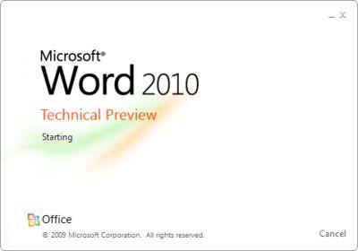 normal word 2010png - Office 2010: Microsoft confirma nome e período de lançamento