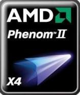 "phenom2logoum7 - AMD implantará seu próprio ""Turbo Boost"" nos Phenom II X6."