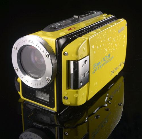sanyo xacti wh1 - Filmadora a Prova d'Água com Resolução HD da Sanyo