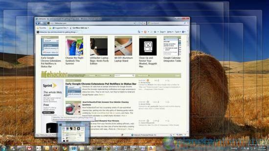 win 7 desktop - [Benchmarks] - Windows 7 RC1 Vs Windows Vista