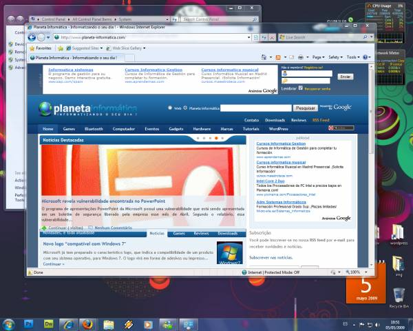 win7 rc.thumbnail - Já podemos baixar Windows 7 RC 1.