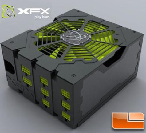 xfx psu 850w black edition lr - XFX lançará sua primeira fonte de alimentação