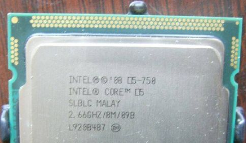27 06 09 corei5 - Processador Core i5-750 em foto