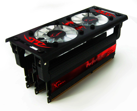 72005 g skill 2133 turbulance fan - Um kit de memória DDR3 de 2133 MHz da G.Skill