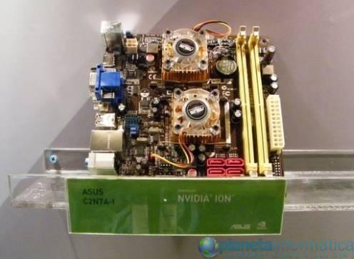 asusionnvidia 1 - [Computex 2009] Asus mostra placa mãe baseado no Ion