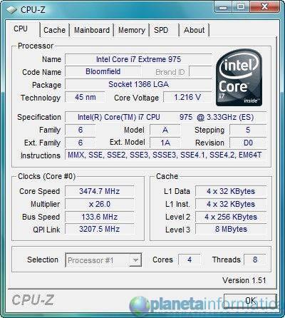 corei79751 - Intel lança Core i7 975 Extreme e atualiza tabela de preços