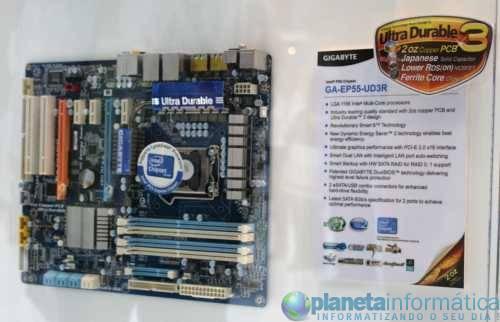 ep55ud3r1 - [Computex 2009] Gigabyte apresenta sua linha de placas P55