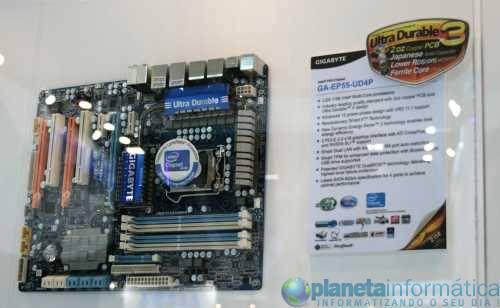ep55ud4p2 - [Computex 2009] Gigabyte apresenta sua linha de placas P55